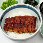 うなぎ本丸 - 信長丼(肝吸い・お新香付き) 1,950円