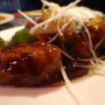 ハモニカキッチン - 黒酢の酢豚