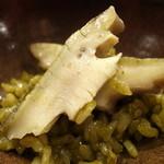 中国料理マスキ - 料理写真:蒸し鮑と鮑の肝のリゾット