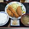 とんかつ勝義 - 料理写真:3種盛定食 850円(税込)(2018年3月17日撮影)