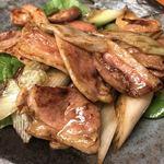 きり - カモネギ炒めアップ