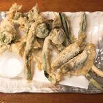 きり - 春の山菜天盛り