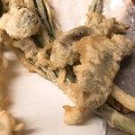 きり - ●春の山菜天盛り アップ
