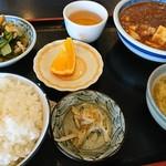 82591342 - 麻婆豆腐定食