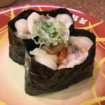 元禄寿司 - たらの白子135円(税込)
