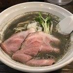 丿貫 - 料理写真:純煮干しそば  780円(税込)