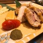 82593272 - 阿波尾鶏の塩焼き