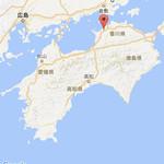 82593326 - 四国一周の軌跡  ①長田in香の香(香川県)