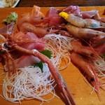 和食処 山女魚 - 深海海老が沢山