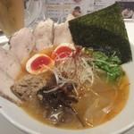 北新地 海老拉麺 キョウハ・エビ - 特製 塩・エビラーメン 1050円