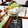 矢野園 喫茶有鄰 - 料理写真:抹茶パフェ