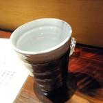 千子 - 芋焼酎お湯割り