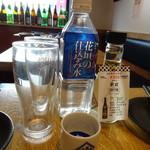 日本酒原価酒蔵 - 仕込み水と新政
