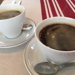 ペーパームーン - ブレンドコーヒーとアメリカン