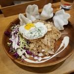 ブンブン食堂 - 「ナシゴレン (850円)」