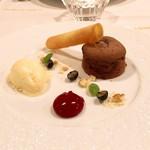 Le Salon de Legumes - デザートはフォンダンショコラやバニラアイス