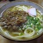 こんぴらうどん - 料理写真:「肉うどん(大盛)」500円