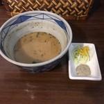 麺屋 龍の家族 -  ★黒虎つけめん(冷・大盛無料・830円)★つけ割