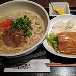 82602569 - 【2018/3】ソーキそば+ラフテー丼(ミニ)