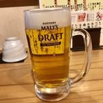 魚路 - 生ビール