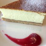 イネカフェ - チーズケーキアップ