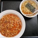 大盛軒 - 肉絲炒飯(+小ラーメン)¥850