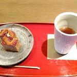82606941 - ほうじ茶が香ばしくて美味しかった。