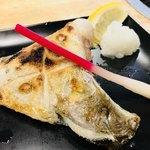 海千山千番長 難波店 - 魚のカマ塩焼き✨最高に美味しい〜〜♡