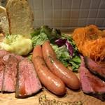 82607961 - 肉前菜の盛り合わせ