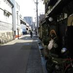 かも川 - 名古屋駅に着いたらひたすら運動!先ずは四間道までウォーキング!
