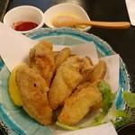 Bakushuan - 牡蠣フライアンドチップス