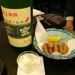 麦酒庵 - フライドポテトに合わせた日本酒