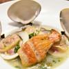 ピッツェリア・エ・バール・レガーメ - 料理写真:蛤と金目鯛と魚のブロードと白いんげん豆など