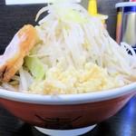 ラーメン二郎 - 料理写真:小ラーメン+野菜ニンニク