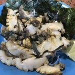 寿司と地魚料理 大徳家 - 鮑姿焼き