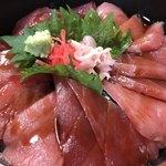 寿司と地魚料理 大徳家 - 鉄火丼