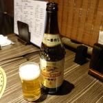 近江牛焼肉 永福苑 - 中瓶580円+税