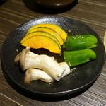 近江牛焼肉 永福苑 - 焼き野菜盛り合わせ1,280円+税