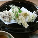 光太郎 - 天ぷらの盛り合せ