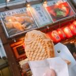 銀座たい焼き 櫻家 - 薄皮たい焼き あんこ 190円