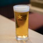 タイ国料理 チャイタレー - 2018.3 生ビール(550円)サッポロ黒ラベル