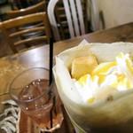 BETTY - マンゴー&パッションフルーツチーズケーキ生クリーム
