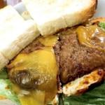 82615810 - ハンバーグチーズ