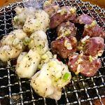 江古田ホルモン - 豚タンと塩ホルモン
