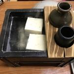 旅館 湯之迫 - 湯豆腐は2人分1人1個づつ