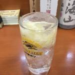 全国珍味・名物 難波酒場 - ガリチューハイ