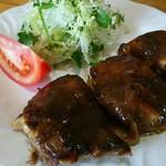 蒸鶏工房 白地商店 - 蒸鶏もも タレ ¥600
