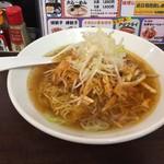 麺屋KAZU - 料理写真:ねぎちゃーしゅーめん・ピリ辛の赤