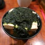 Nihonshuhanatare - とうめし690円+生青海苔280円