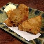 橙 - 鶏の唐揚げ3ヶ ¥330